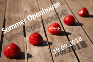 Open House bei AGFA in Mortsel